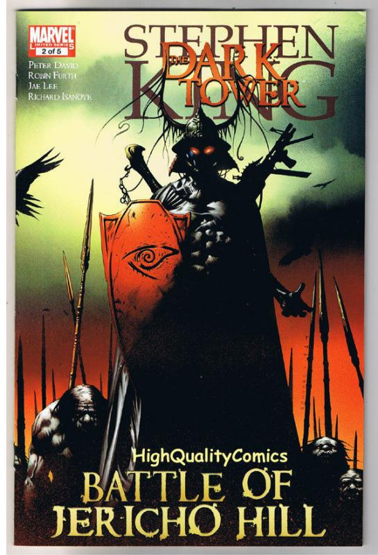 Stephen King DARK TOWER BATTLE of JERICHO HILL #2, VF, more in store