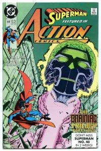 Action Comics 649 Jan 1990 NM- (9.2)