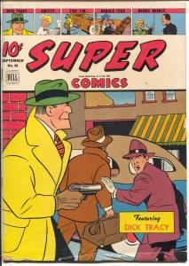 Super #88 1945-Dell-Dick Tracy-Tiny Tim-Chester Gould art-Harold Teen-VG