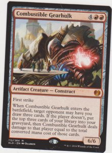 Magic the Gathering: Kaladesh - Combustible Gearhulk