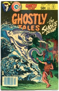 GHOSTLY TALES #145, FN, Smoke Demon, Horror, 1966 1980, more Charlton in store