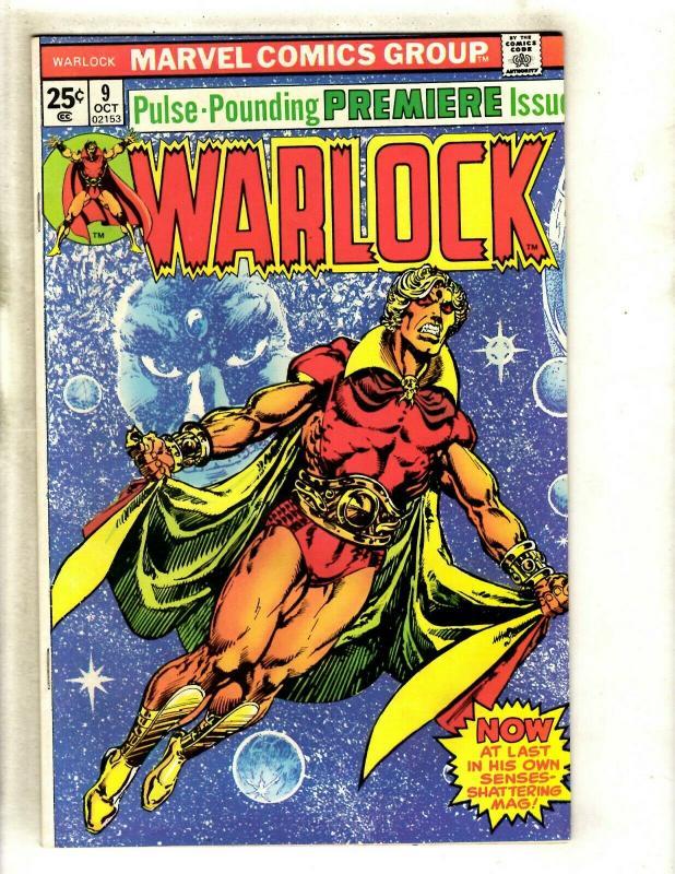 Warlock # 9 NM- Marvel Comic Book Thanos Avengers Hulk Thor Gamora Pip GK4