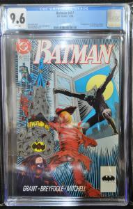 Batman #457 (DC, 1990) CGC 9.6