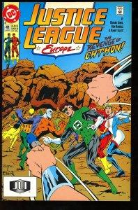 Justice League Europe #41 (1992)