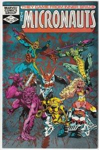 The Micronauts #38 February 1982 Marvel Comics