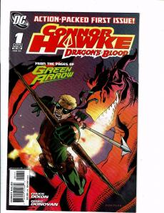 Lot of 6 Connor Hawke Dragon's Blood DC Comic Books #1 2 3 4 5 6 J127