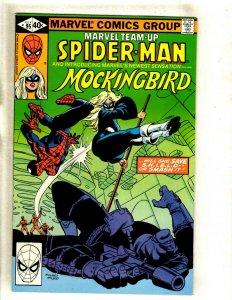 Marvel Team-Up # 95 VF/NM Marvel Comic Book Spider-Man Mockingbird Key HJ9