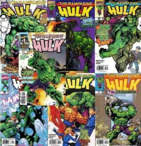 RAMPAGING HULK (1998) 1-2,2A,3-6  COMPLETE + VARIANT! COMICS BOOK