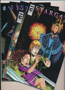 STARGATE #1,2,3,4 ENTITY COMICS (1996) ~ F/VF (PF267)