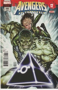 Avengers(vol. 1) #686–687 No Surrender, Avengers(vol. 3)# 11 Legion of Undead