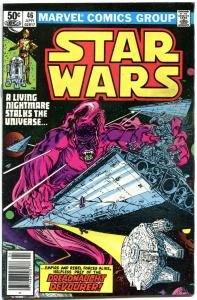 STAR WARS #46, FN+, Luke Skywalker, Darth Vader, 1977, more SW in store