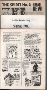 Rocket's Blast Comicollector Fanzine Coverless Bargain Lot of 3-1960-70-P