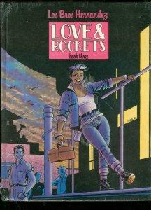 LOVE & ROCKETS BOOK 3-HARDCOVER-LOS BROS HERNANDEZ-#895 NM