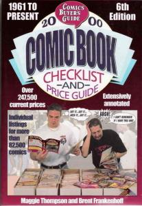 Comics Buyer's Guide Comic Book Checklist & Price Guide #2000 FN; Krause | save