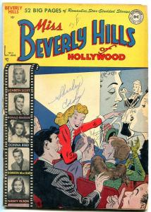 MISS BEVERLY HILLS OF HOLLYWOOD #8 1950-RONALD REAGAN-DONNA REED-very good  VG-