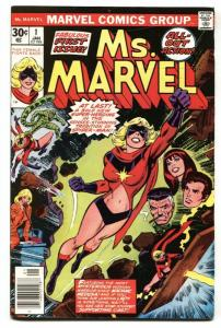 MS. MARVEL #1 1976 First issue comic book VF-