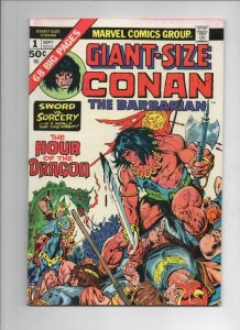 GIANT-SIZE CONAN #1, VF, Barry Smith, Hour of Dragon Belit, 1974, more in store