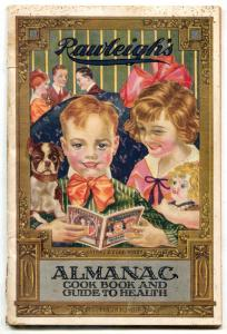 Rawleighs Almanac Cook Book & Guide to Health 1919 infinity cover
