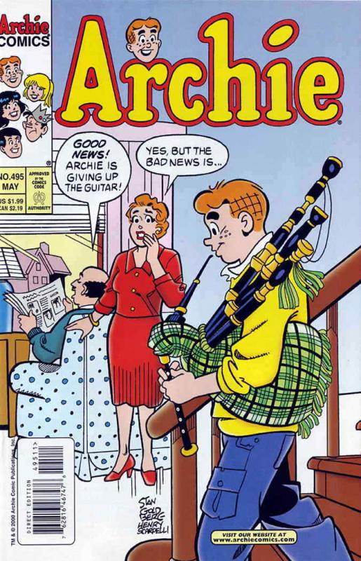 Archie #495 VF/NM; Archie | save on shipping - details inside