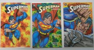 Superman Doomsday Hunter Prey, Set:#1-3, NM (1994)