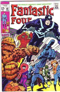 Fantastic Four #82 (Jan-69) VF High-Grade Fantastic Four, Mr. Fantastic (Reed...