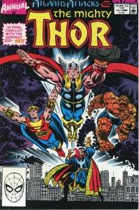 THOR Annual #14 Atlantis Attacks Crossover MARVEL COMICS 1989