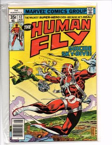 Marvel Comics The Human Fly #12  Dave Cockrum Bill Mantlo