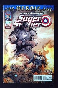 Steve Rogers: Super Soldier #4 (2010)