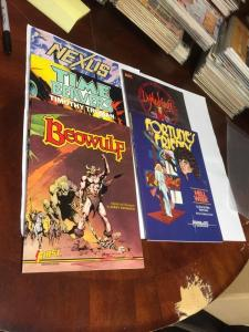 Nexus Time Beavers Demon Knight Fortunes Friends All Nm Graphic Novels