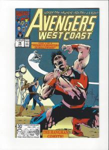 Avengers West Coast #77 Night Shift NM