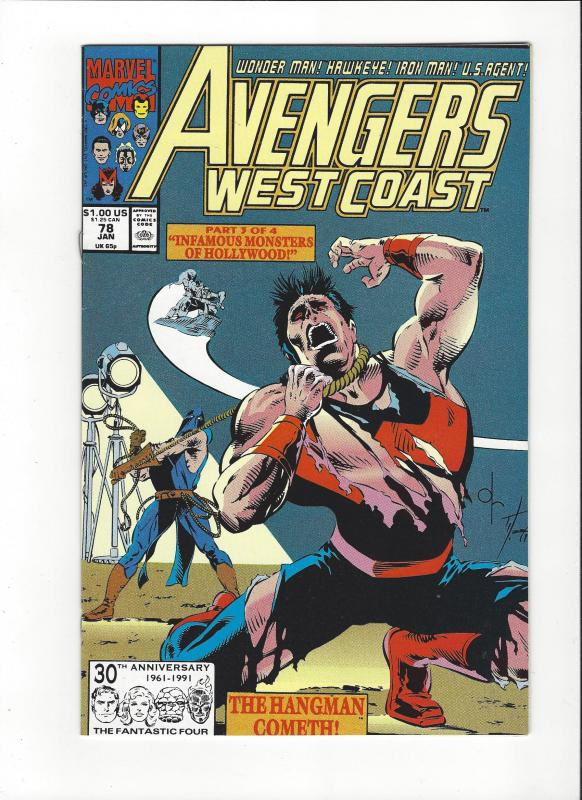 Avengers West Coast #77 Night Shift NM