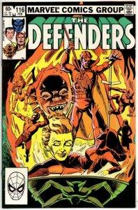 DEFENDERS #116, NM-, Son of Satatn Dr Strange 1972 1983 Marvel