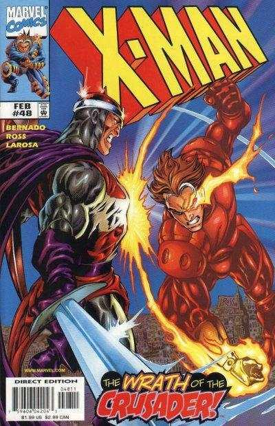 X-Man #48, NM- (Stock photo)