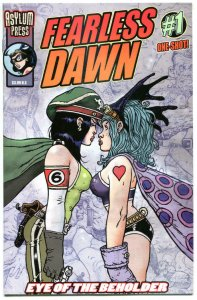 FEARLESS DAWN - EYE of the BEHOLDER  #1, NM, Steve Mannion, 2014, more in store