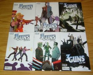 3 Guns #1-6 VF/NM complete series - sequel to steven grant's 2 guns 3 4 5 set