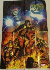 YEARS OF FUTURE PAST SECRET WARS Promo Poster, 24 x 36, 2015, MARVEL, Unused 149