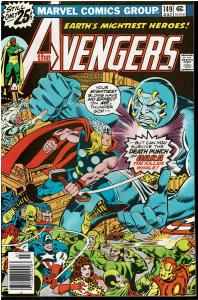 Avengers #149, 7.5 or Better - Squadron Supreme Appearance
