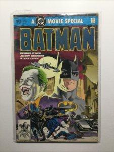 Batman Movie Special 1 1989 Near Mint Nm Dc Comics
