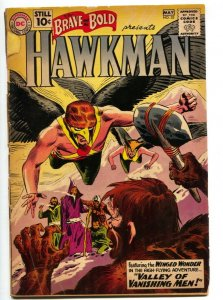 Brave and the Bold #35-Hawkman by Joe Kubert-DC Silver Age! G
