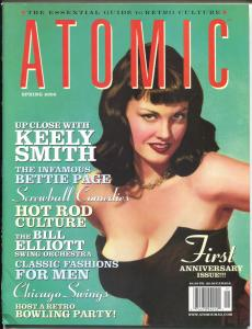Atomic-The Magazine of Retro Culture-Spring 2000-Bettie Page-culture-music-FN/VF