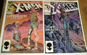 X MEN 186,198 Lifedeath pts1-2 Barry Smith&Claremont