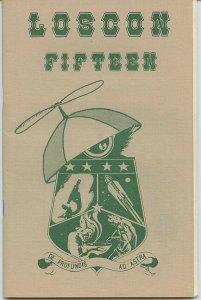 LOSCON 15 Programme Book (Autumn, 1988) Kaiser Collection - Scarce!