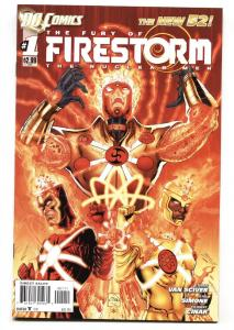 FURY OF FIRESTORM #1 2011 1st appearance of FURY-New 52 DC NM-