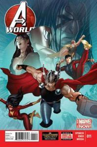 Avengers World #11, NM + (Stock photo)