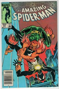 The Amazing Spider-man #257 featuring The Hobgoblin and the 2nd App. of the Puma