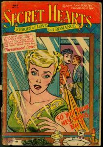 Secret Hearts #14 1953-  DC Romance Golden Age FAIR