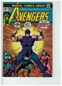 AVENGERS 109 VG- March 1973