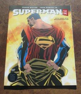 Superman Year One #1 TPB Graphic Novel NM+ 1st Print DC Black Label Frank Miller