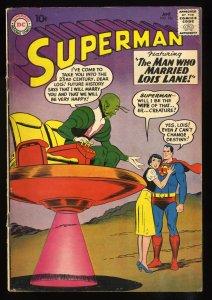 Superman #136 VG 4.0 Bizarro!  Lois Lane!