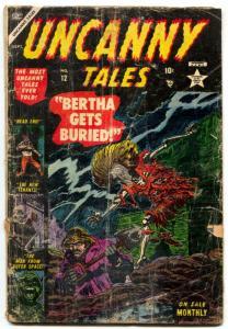 Uncanny Tales #12 1953-HORROR-Bill Everett-Pre-code reading copy